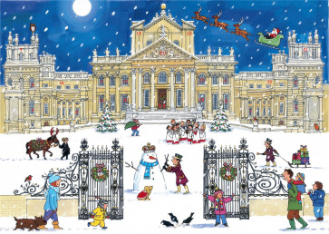 Alison Gardiner Traditional Card Advent Calendar Large - Christmas at the Palace